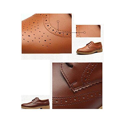 zmlsc Robe Chaussures Hommes Occasionnels Ronde Doux Point Point Sangle Saison Antidérapante Randonnée Plage Cachemire Couleur Sports Brown sNTfYiJLJ