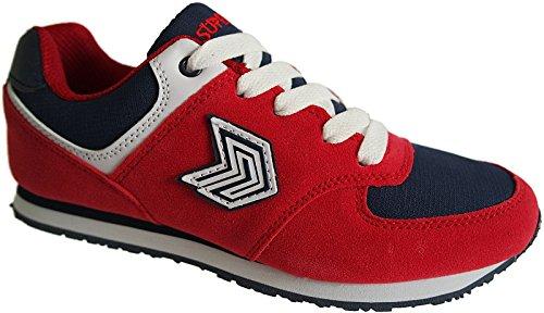 Damen Laufschuhe Turnschuhe Sportschuhe Sneaker nr.5767 rot