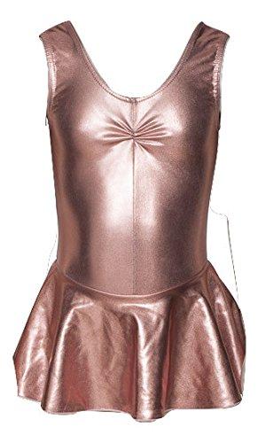 Katz Dancewear KDR005 Maillot con falda de ballet para niñas, de ...