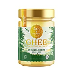 Fourth & Heart's ghee butter is whipped to ensure a smooth, creamy, so it's spreadable like butter. Available in five unique flavors to complement any meal. Naturally rich in Vitamins A, E, and K, Omega-3, CLA, and butyric acid....