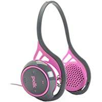 Polk Audio UltraFit 2000 On-Ear Sports Headphones (Pink/Gray)