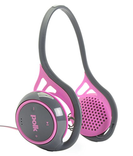 Polk Audio UltraFit 2000 On-Ear Sports Headphones (Pink/Gray)