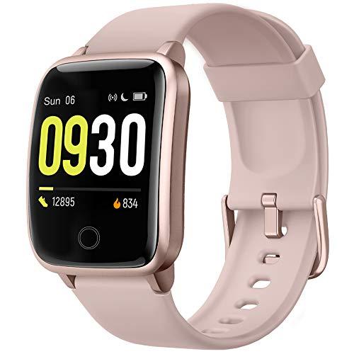 Willful Smart Watch for Men Women IP68 Waterproof, Fitness Tracker Heart Rate Monitor Sport Digital Watch, Smartwatch…