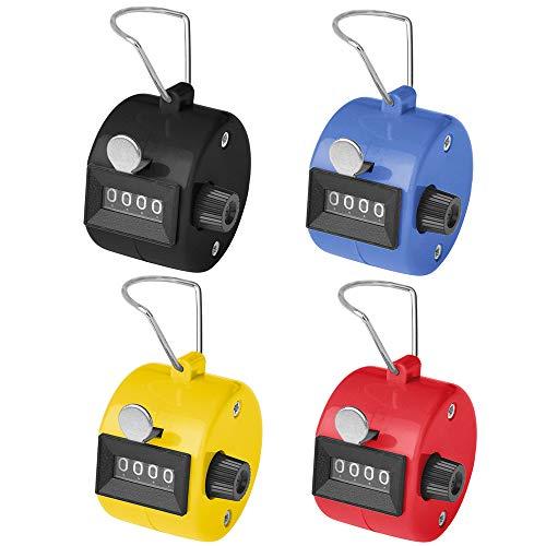 GOGO 100 Pcs Mixed Hand Tally Counter, ABS Tally Counter Clicker, Lap Counter Bulk Wholesale Lot from GOGO