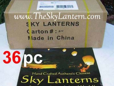 White Sky Fire Chinese Lanterns Flying Paper Wish Balloon for Wedding Festival Christmas Party(Pack of 30 pcs)