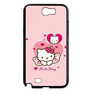 The new hot ultra-thin frosted back cover mobile phone protection shell series of hello Kitty For Samsung Galaxy Note 2 N7100 Csaes phone Case THQ137687