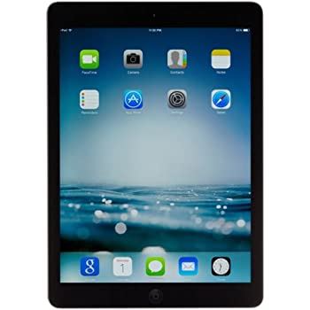 Apple iPad Air ME898LL/A (128GB, Wi-Fi, Black with Space Gray) OLD VERSION