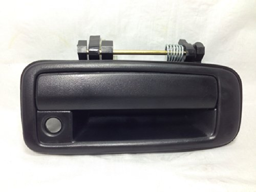 - United Auto Supplies UAS-1145 Exterior Outside Door Handle Front Right Texture Black