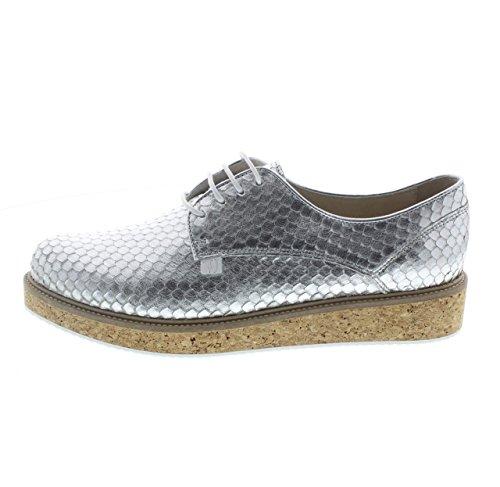 Trussardi - Zapatos de cordones para mujer plateado plateado 38