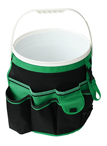 Apollo-Tools-DT0825-Garden-Tool-Organizer-BlackGreen-5-Gallon-Bucket