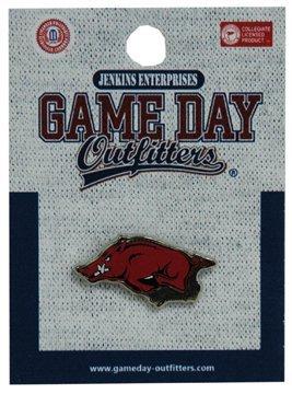 Arkansas Razorbacks Lapel Pins - Jenkins Enterprises Arkansas Razorbacks Team Logo Lapel Pin - NCAA Tuxedo Tie Clip