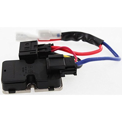 Diften 615-A0340-X01 - New Blower Motor Resistor Front - 92 500sel Blower Motor Resistor