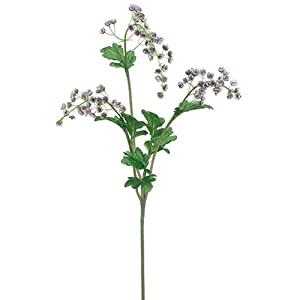 "35"" Silk Mini Aster Hanging Flower Spray -Lavender (Pack of 6) 13"