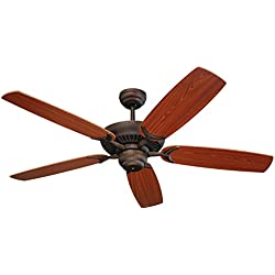 "Monte Carlo 5CU52RB, Cruise, 52"" Ceiling Fan, Roman Bronze"