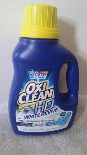 - OxiClean HD White Revive Laundry Detergent, Ocean Breeze, 20 LOADS 40oz