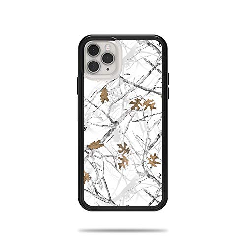 MightySkins Skin for Lifeproof Slam Case iPhone 11 Pro Max - Conceal Snow | Protective, Durable, and Unique Vinyl Decal wrap Cover | Easy to Apply, Remove, and Change Styles | Made in The USA