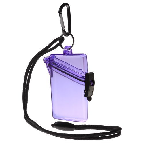 WITZ See it Safe Waterproof ID/Badge Holder Case, (Case Dry Box)