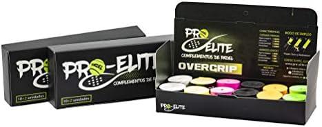 overgrips Pro Elite Confort Perforados Negros. Caja 10+2 unds ...