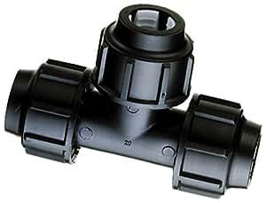 T de unidades de 25x 25x 25mm, PP–para la instalación