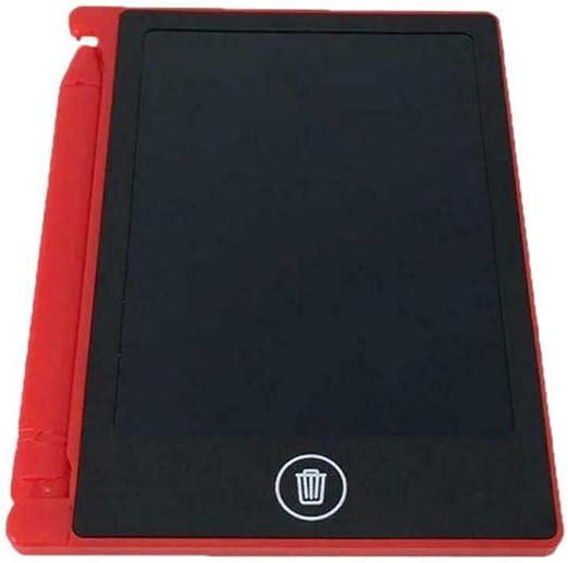 LCDライティングタブレット ポータブル 実用的 再利用可能なLCDライティングドローイングタブレットボード レッド 8.5インチ