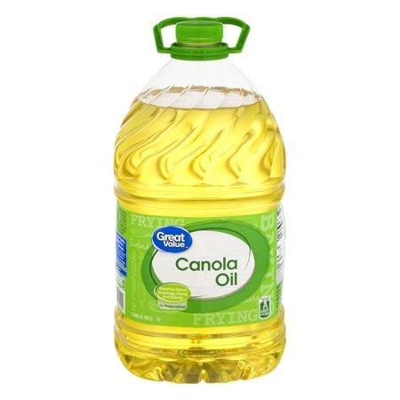100% Pure and Natural with no Artificial Flavors or Color, Gluten-Free and Perfect for Frying Canola Oil, 128 oz, Pack of 4