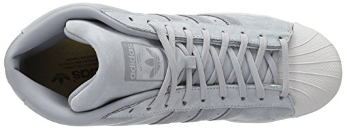 Adidas Man Pro Modell Vit / Super Lila / Guld Metallic, 8,5 M Oss Mitten Grå / Grå Tre / Grå