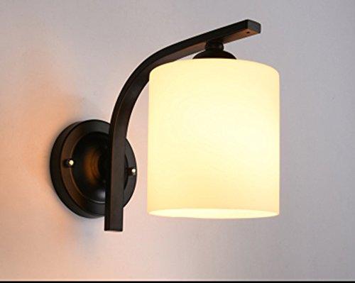 E4 Herr Zhang Wandleuchten Moderne einfache LED-Lampe Nachttischlampe Schlafzimmer Wandleuchte Wohnzimmer Aisle Korridor Treppe Wand Lamp Hotel Lampen und Laternen Wandbeleuchtung (Farbe   F8)