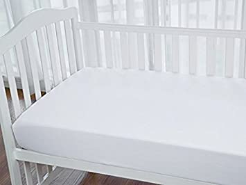 Amazoncom Baby Crib Fitted Sheet Fits Standard Size Crib Mattress