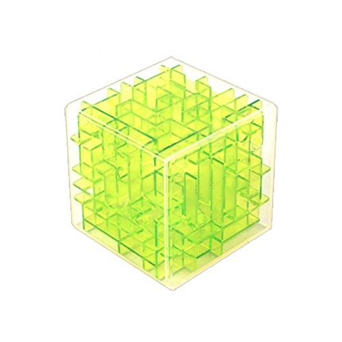 Ziyier G&E : - 3D Bead Maze Supermarket (High Quality and different type) (Style 2( Green))