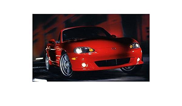 Amazon.com: 2004 Mazda MazdaSpeed MX5 Miata Turbo Factory Photo: Entertainment Collectibles