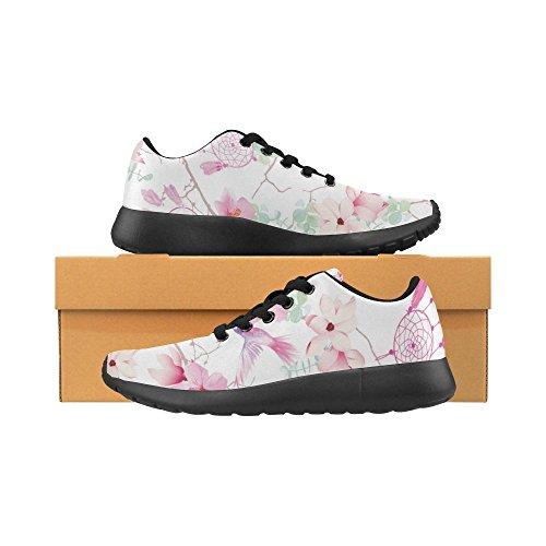 Sneakers Scarpe Sportive Donna Bianco,Nero,Rosa Dal 36 Al 41 Leggere, Comode