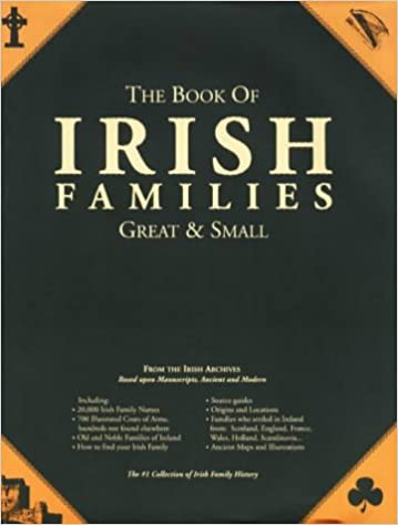 Amazon 1 the book of irish families great small second 1 the book of irish families great small second edition 2nd edition fandeluxe Image collections