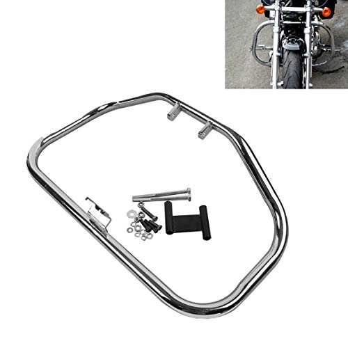 TCMT Engine Guard Highway Crash Bar Fits For Harley Davidson Sportster XL 1984 1985 1986 1987 1988 1989 1990 1991 1992 1993 1994 1995 1996 1997 1998 1999 2000 2001 2002 2003 (Harley Engine Parts)