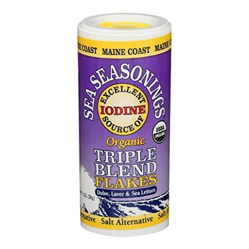 Maine Coast Sea Seasonings - Triple Blend Flakes - 1 Ounce  Shaker, United States,