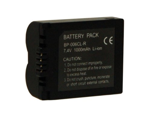 (Digital Concepts BP-006CL-R 1000 mAh Replacement Battery for Panasonic)