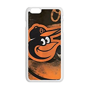Baltimore Orioles Fashion Comstom Plastic case cover For Iphone 6 Plus