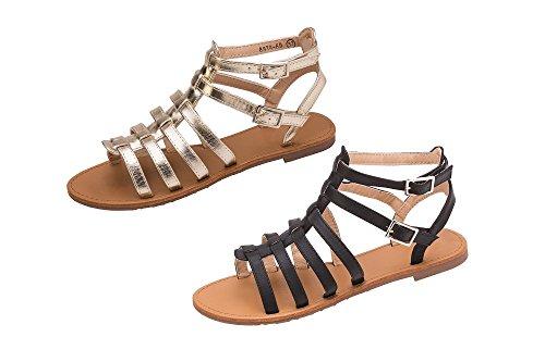 Parzel - Zapatos de tacón  mujer dorado