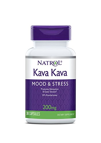 Natrol Kava Kava 200mg Capsules, 30 Count ()