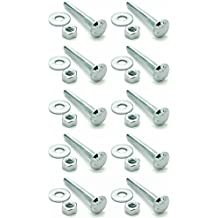 Pack of 50 Right Hand Threads 1//2 Length Small Parts 78231 #8-32 Thread Size 18-8 Stainless Steel Fully Threaded Stud 1//2 Length
