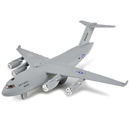CORPER TOYS Diecast Plane Metal Pull-Back Aircraft Toys Air Plane Model Kit Gift Set for Kids Boy Birthday