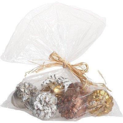 Transpac Imports, Inc. Halloween 6 Piece Pinecone Bowl Filler -
