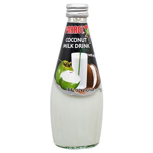 New 368626 Parrot Coconut Milk 9.8Oz (24-Pack) Juice Cheap Wholesale Discount Bulk Beverages ()