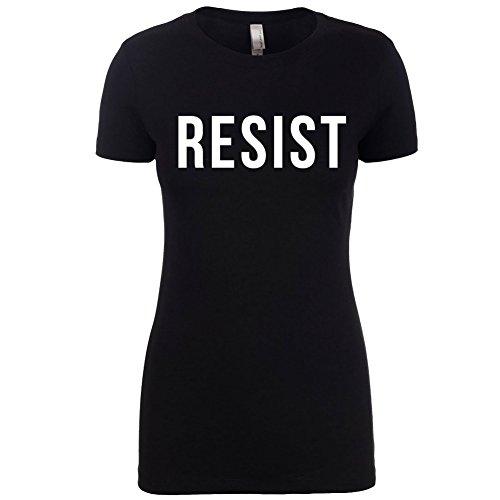 resist-anti-trump-womens-ladies-feminism-t-shirt-by-superior-apparel-small-black