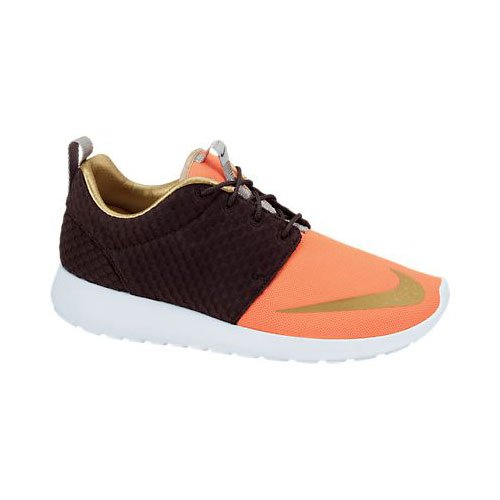 Nike Roshe Laufschuhe Run 511882, Damen Laufschuhe Roshe Training Sequoia/Orange/Weiß/Metallic Gold e9eb46