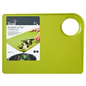 Green Zeal Kitchen Non Slip Food Cutting Straight From Board To Pan Chopping Board