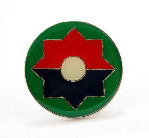 US Army 9th Infantry Division Lapel Hat Pin Gift Military ()