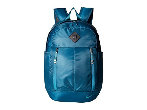 Nike Auralux Backpack Midnight Turquoise/Black/Rio Teal Backpack Bags - Nike Bags College