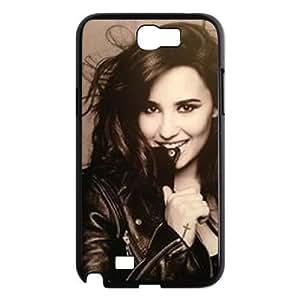 C-EUR Diy Phone Case Demi Lovato Pattern Hard Case For Samsung Galaxy Note 2 N7100 WANGJING JINDA