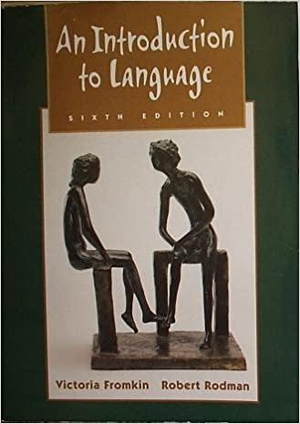 An introduction to language 6th sixth edition victoria fromkin an introduction to language 6th sixth edition victoria fromkin amazon books fandeluxe Gallery