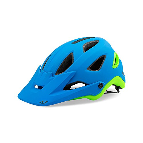 Giro Montaro MIPS MTB Helmet Matte Blue/Lime X-Large (61-65 cm) (Matte X-large Helmet Blue)